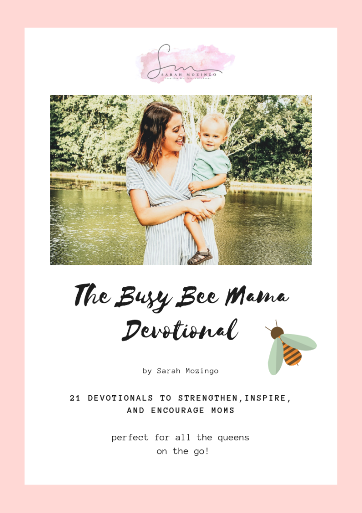 Free 21-Day Devotional for Busy Moms by Sarah Mozingo