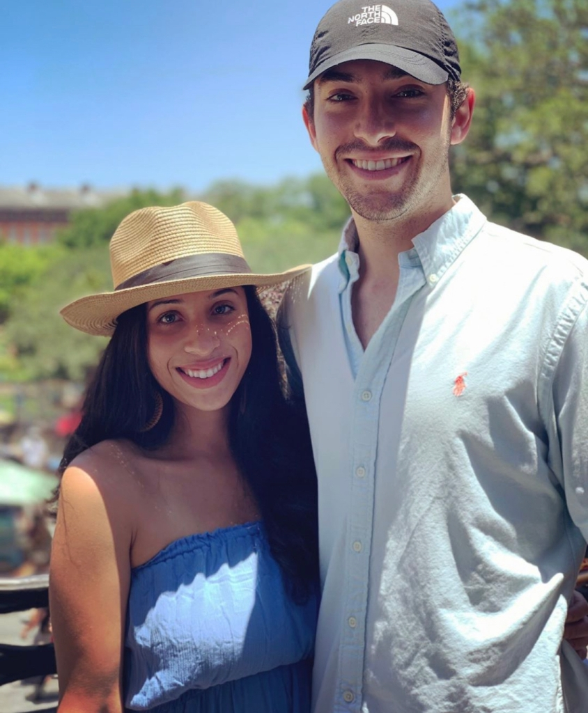 Sofia Garcia and fiance